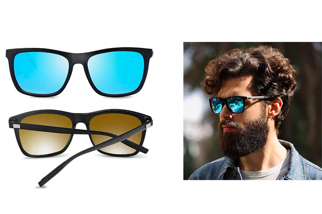 AMZTM Fashion Square Frame sunglasses