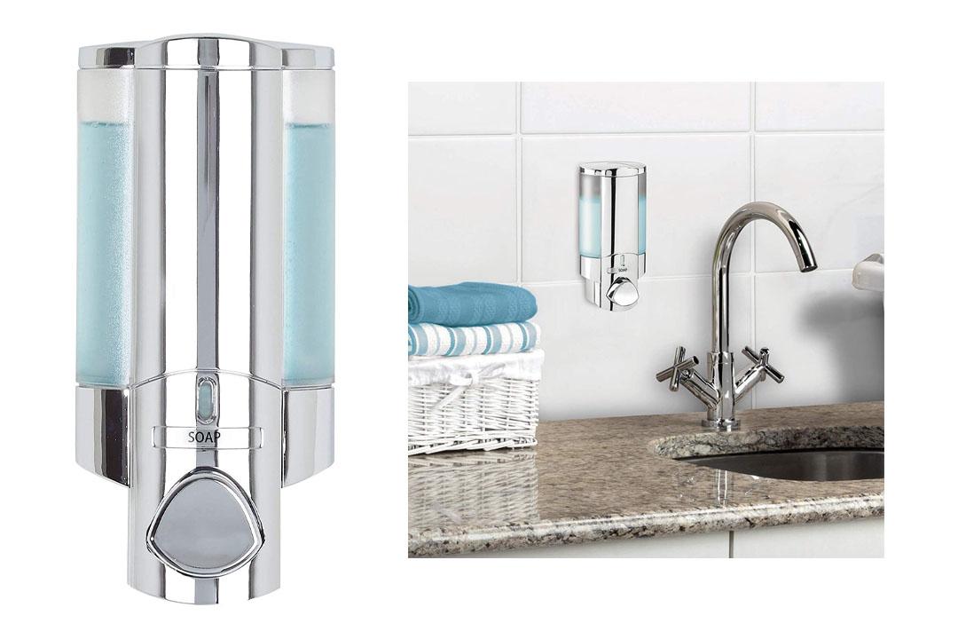 AVIVA Single Bottle Soap and Shower Dispenser