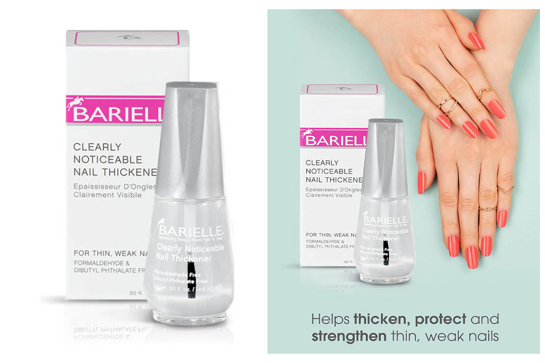 Barielle Clearly Noticeable Nail Thickener For Thin Weak Nails