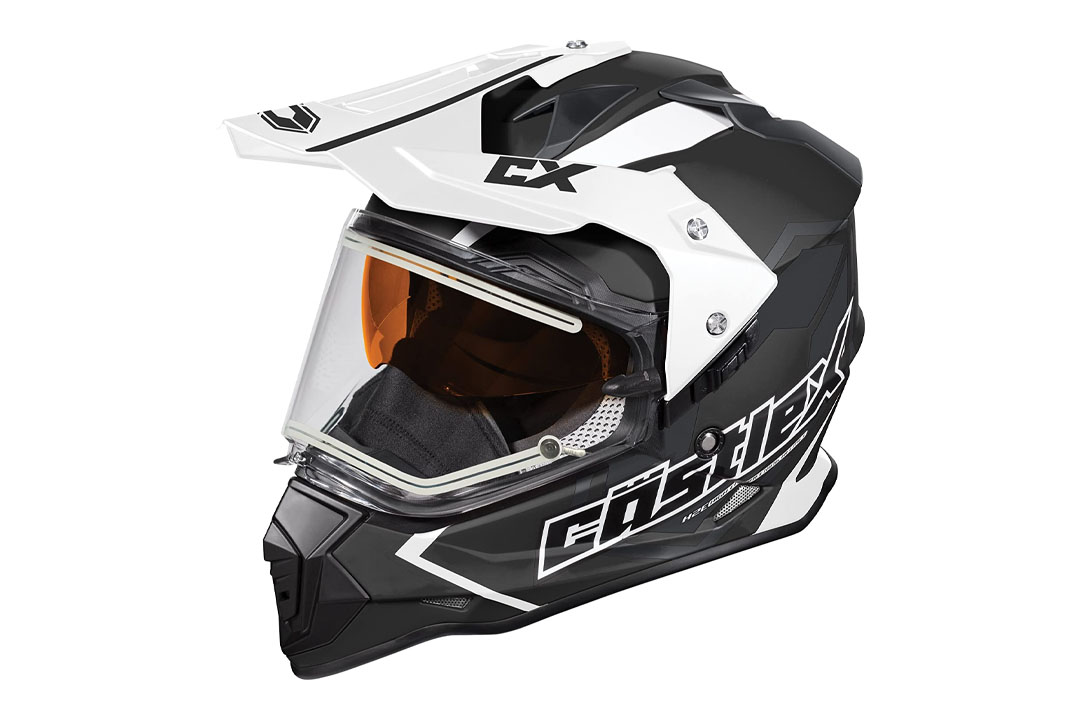 Castle X Mode Dual Sports SV Team Snowmobile Helmet