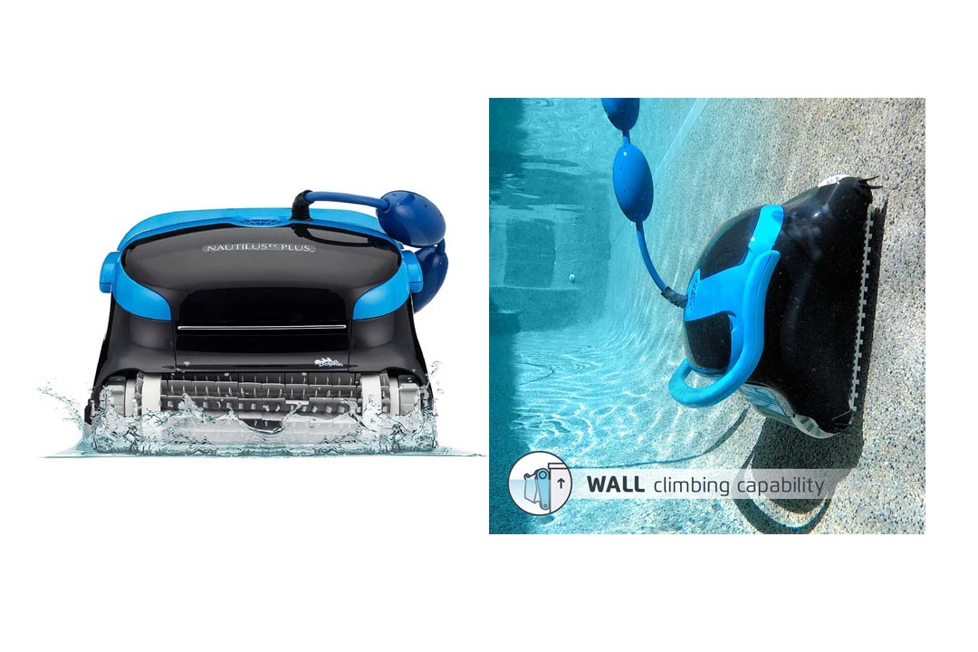 . Dolphin Nautilus CC Plus Automatic Robotic Pool Cleaner