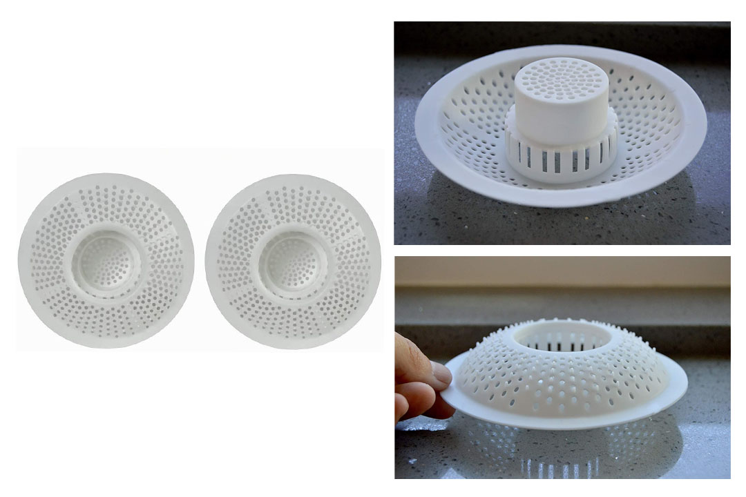 Evriholder HS Hair Stopper Bath Strainer
