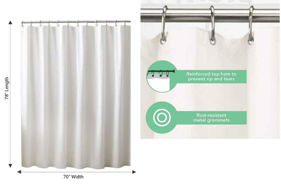 Ex-Cell Home Fashions shower curtain