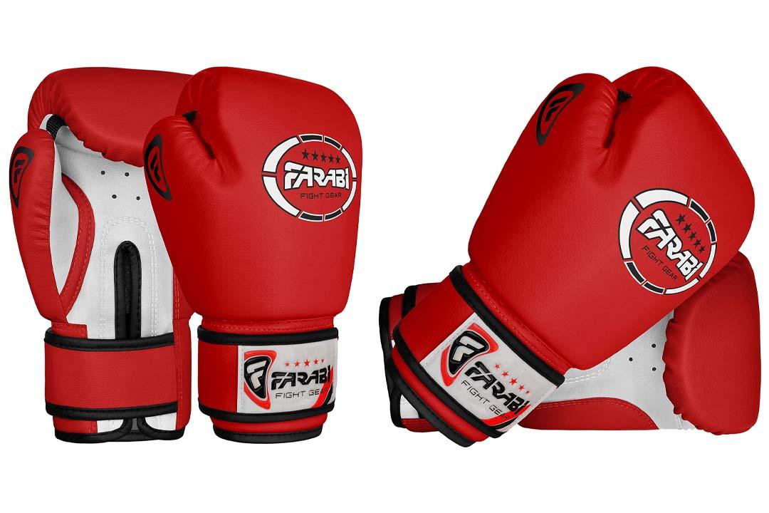 Farabi Kids boxing gloves, junior mitts, junior mma kickboxing Sparring gloves