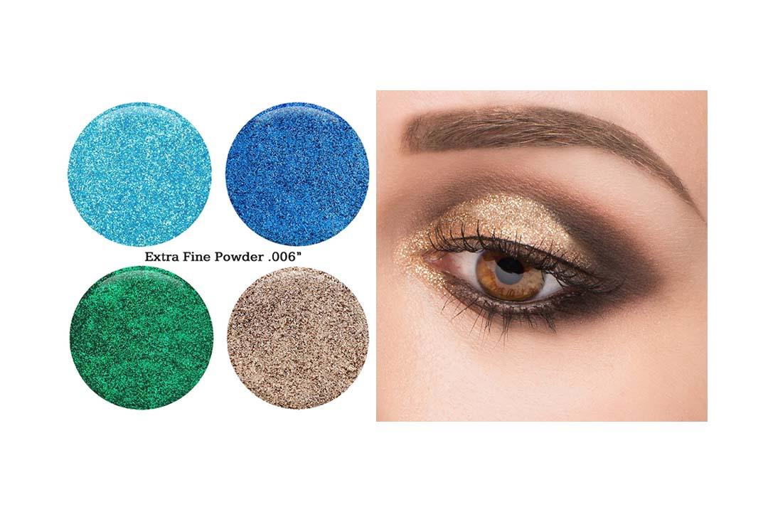 GLITTIES COSMETICS Extra Fine Glitter Powder-Make Up