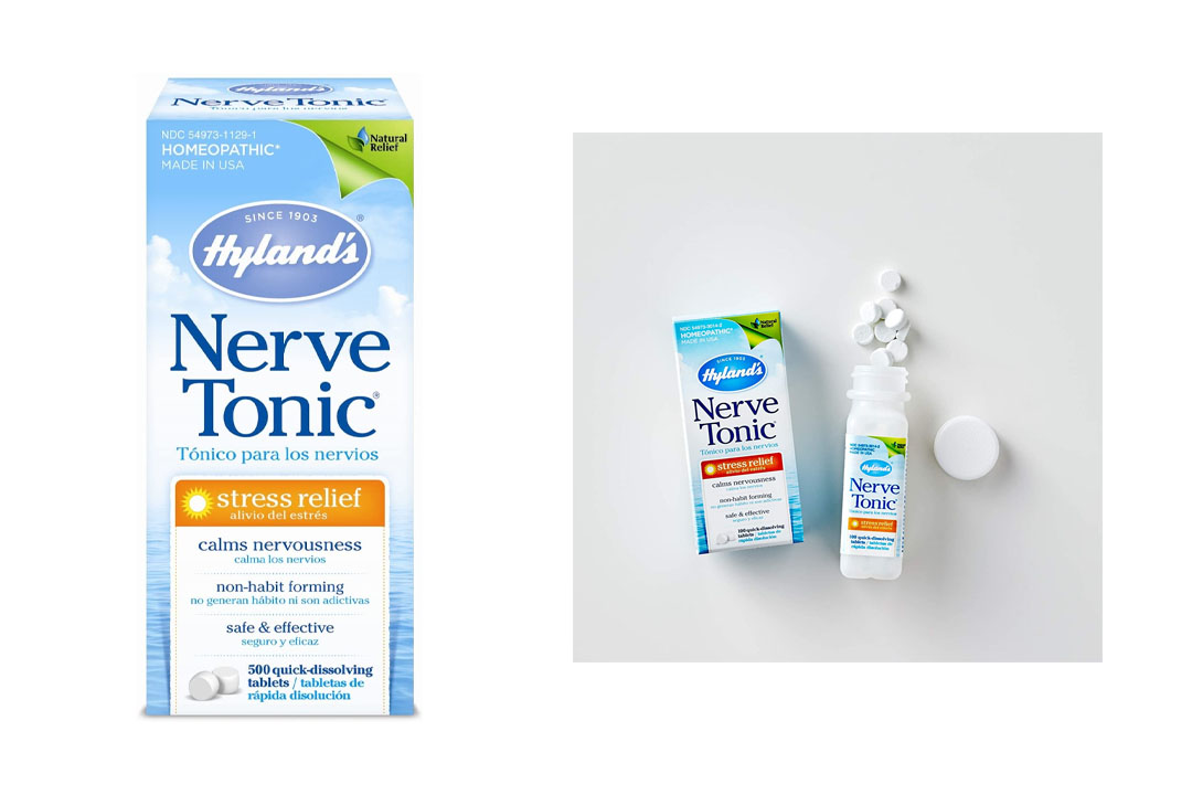 Hyland's Nerve Tonic Stress Relief Tablets