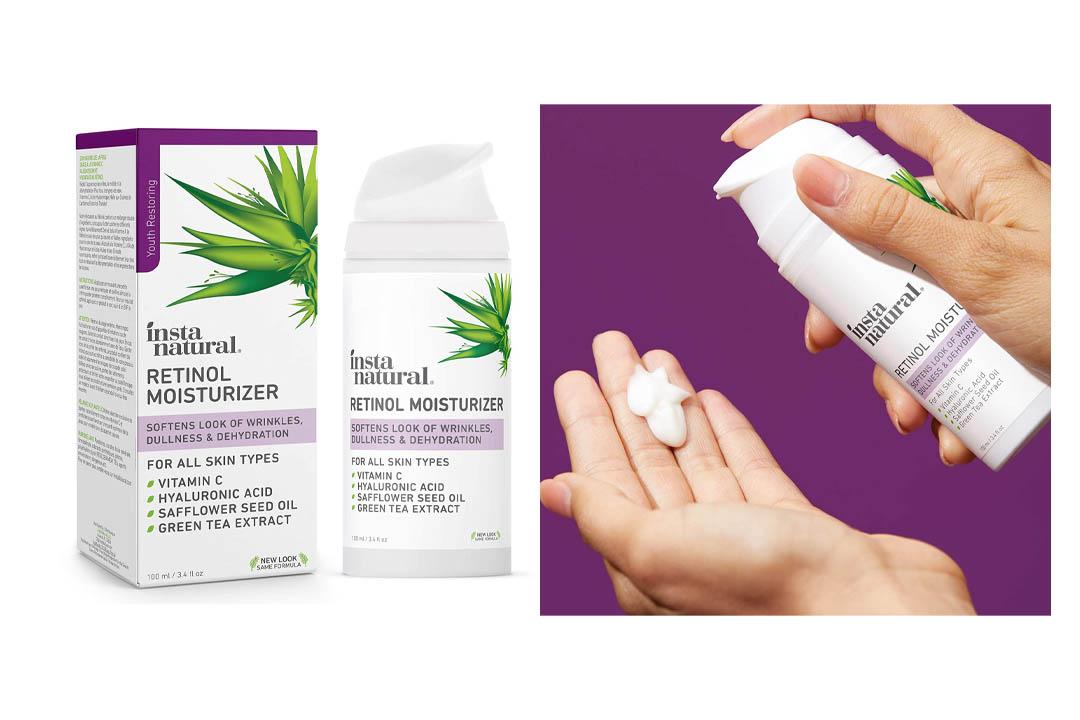 InstaNatural Retinol Moisturizer Anti Aging Cream