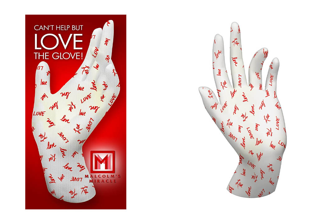 Malcolm's Miracle LOVE Moisturizing Gloves