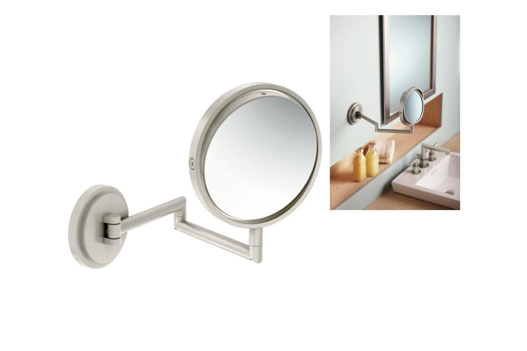 Moen YB0892BN Arris Mirror, Brushed Nickel