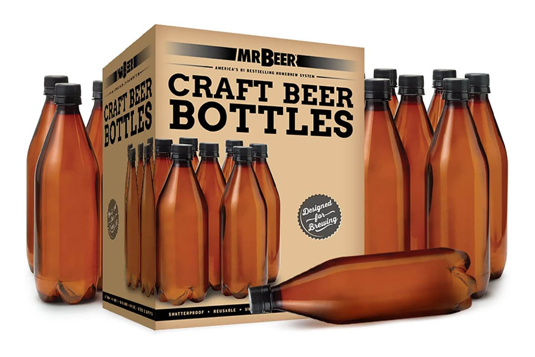 Mr. Beer 740 ml deluxe home brewing beer bottling set