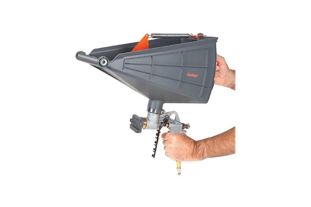 Pattern Pistol Gun & Hopper