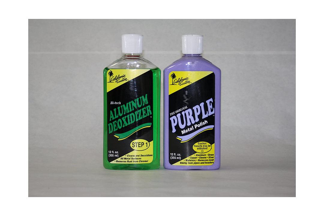 Purple Metal Polish/deoxidizer Combo