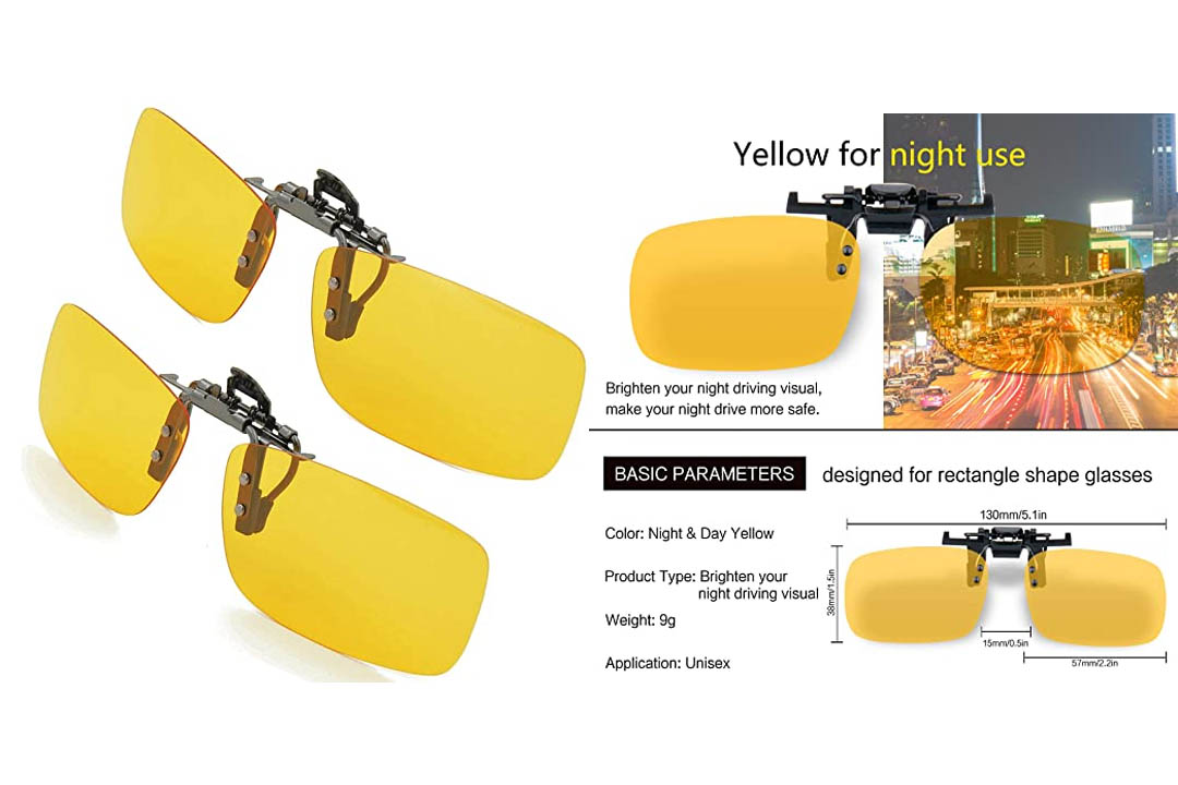 Splaks Clip-on Sunglasses