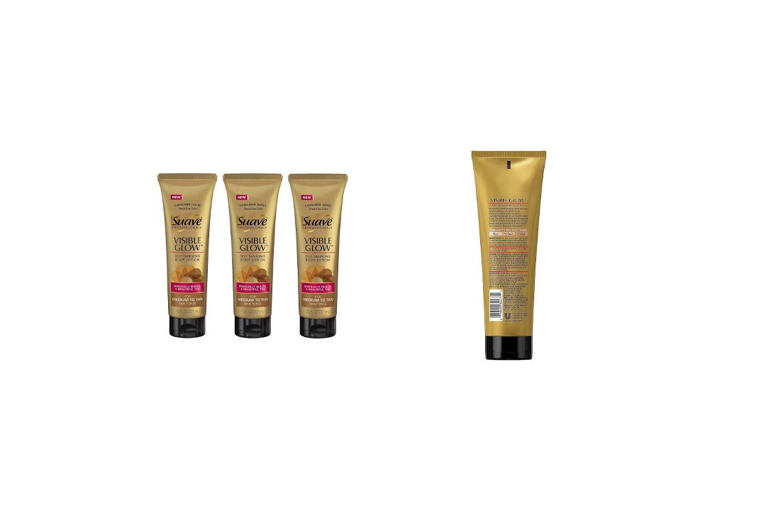 Suave Visible Glow Self Tanning Lotion