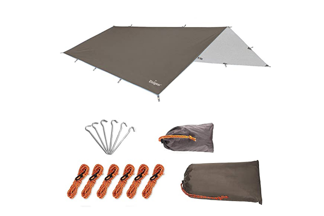 Unigear Hammock Rain Fly Waterproof Camping Backpacking Tarp Shelter