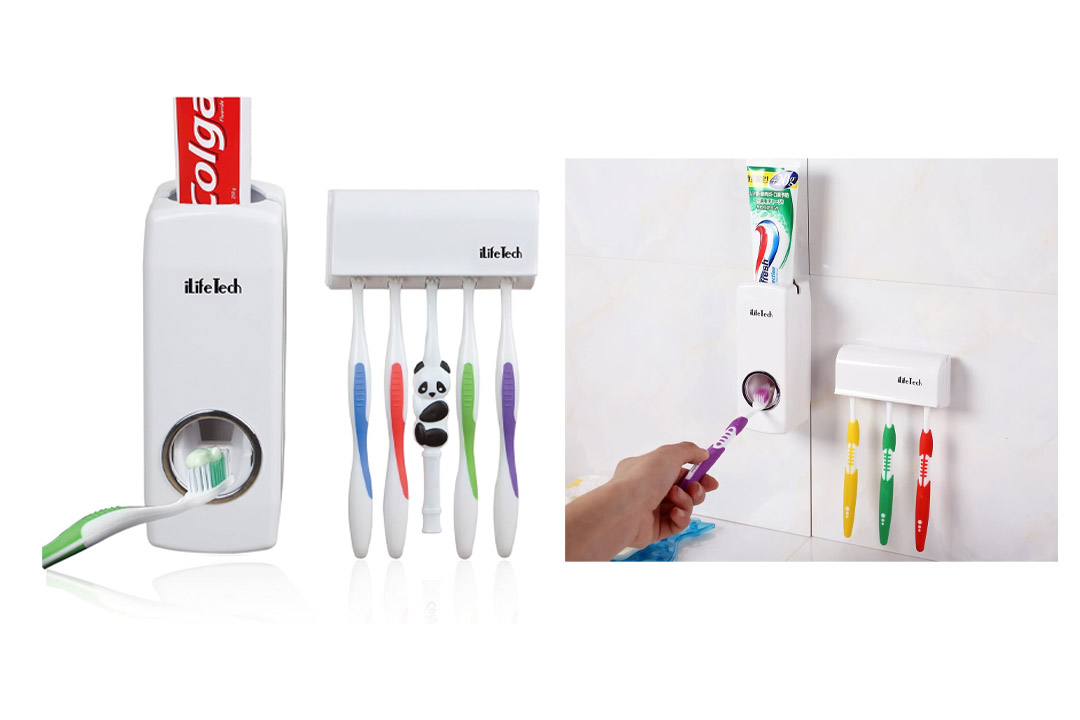 iLife Tech Free Toothpaste DispenseriLife Tech Free Toothpaste Dispenser