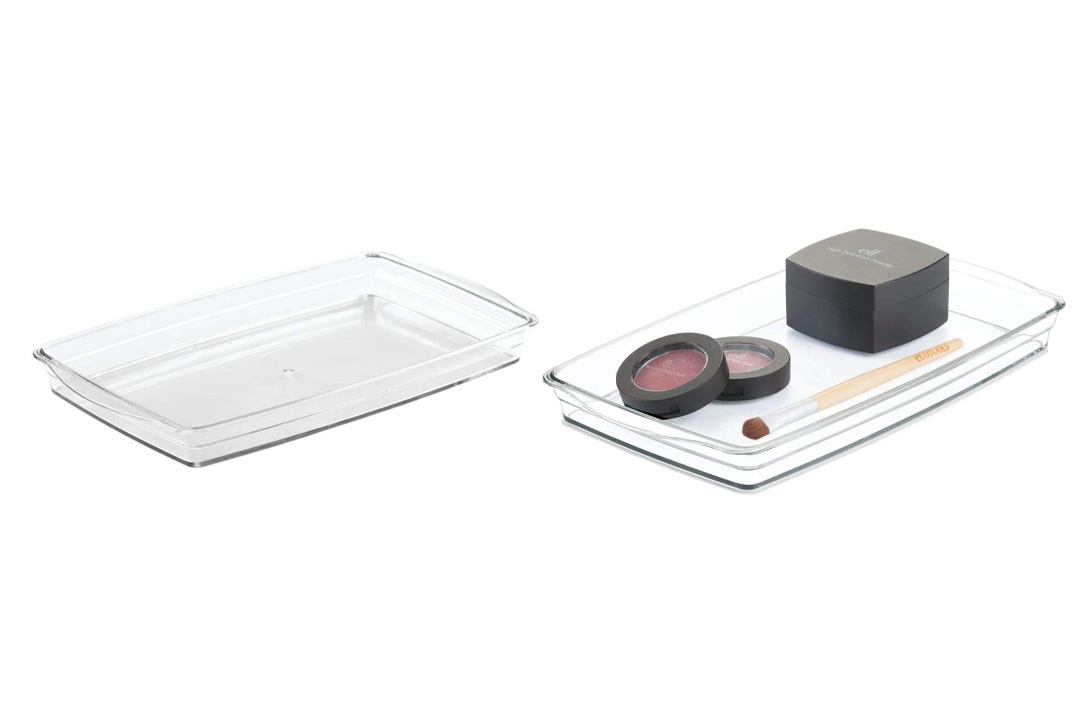 mDesign Cosmetic Organizer Tray
