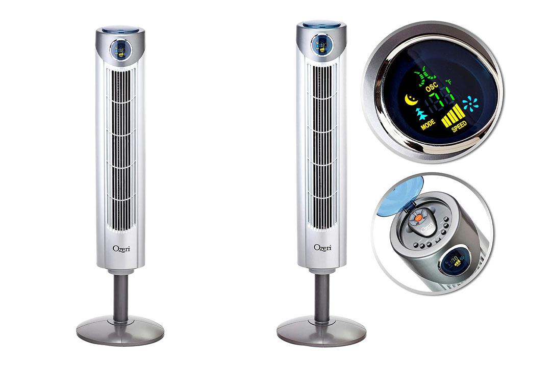 Ozeri OZF1 Ultra 42 inch Wind Fan