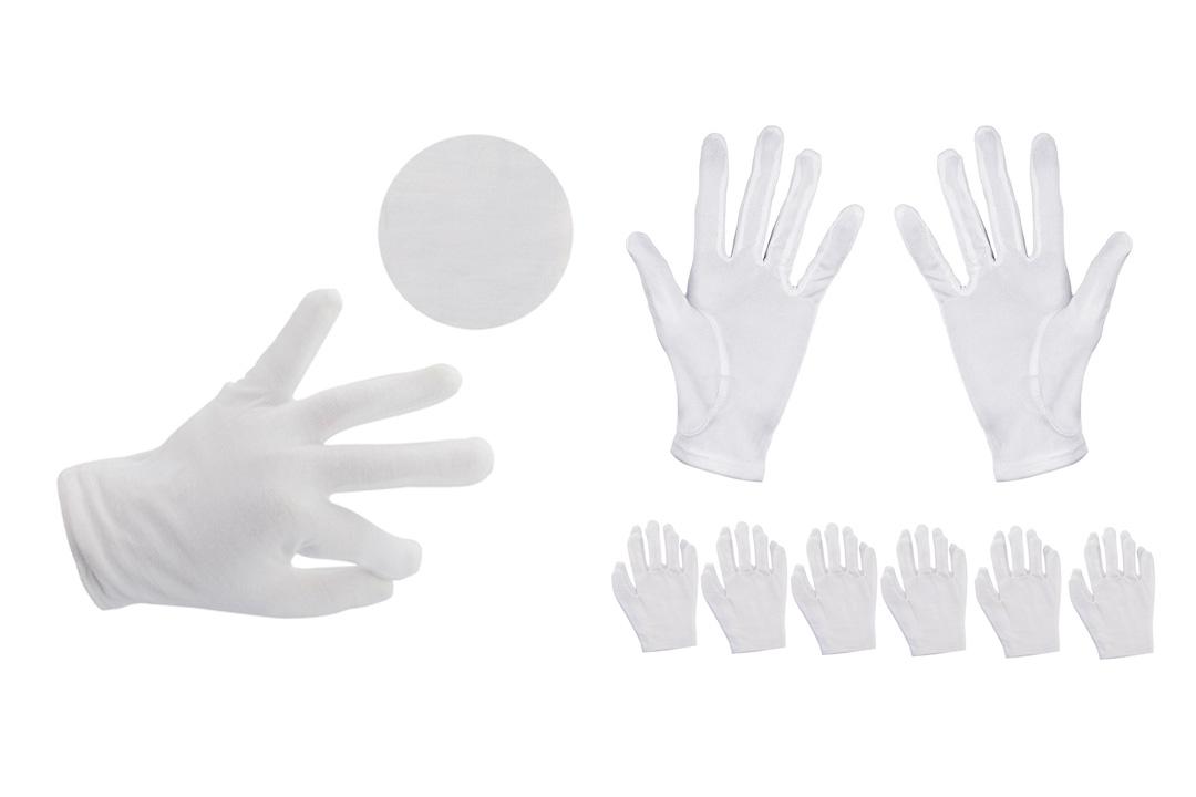 Aboat 6Pairs Cotton Gloves Moisturizing Gloves