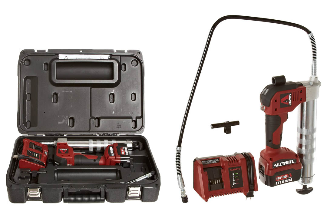 Alemite 595-A 18V Lithium-Ion Powered Grease Gun