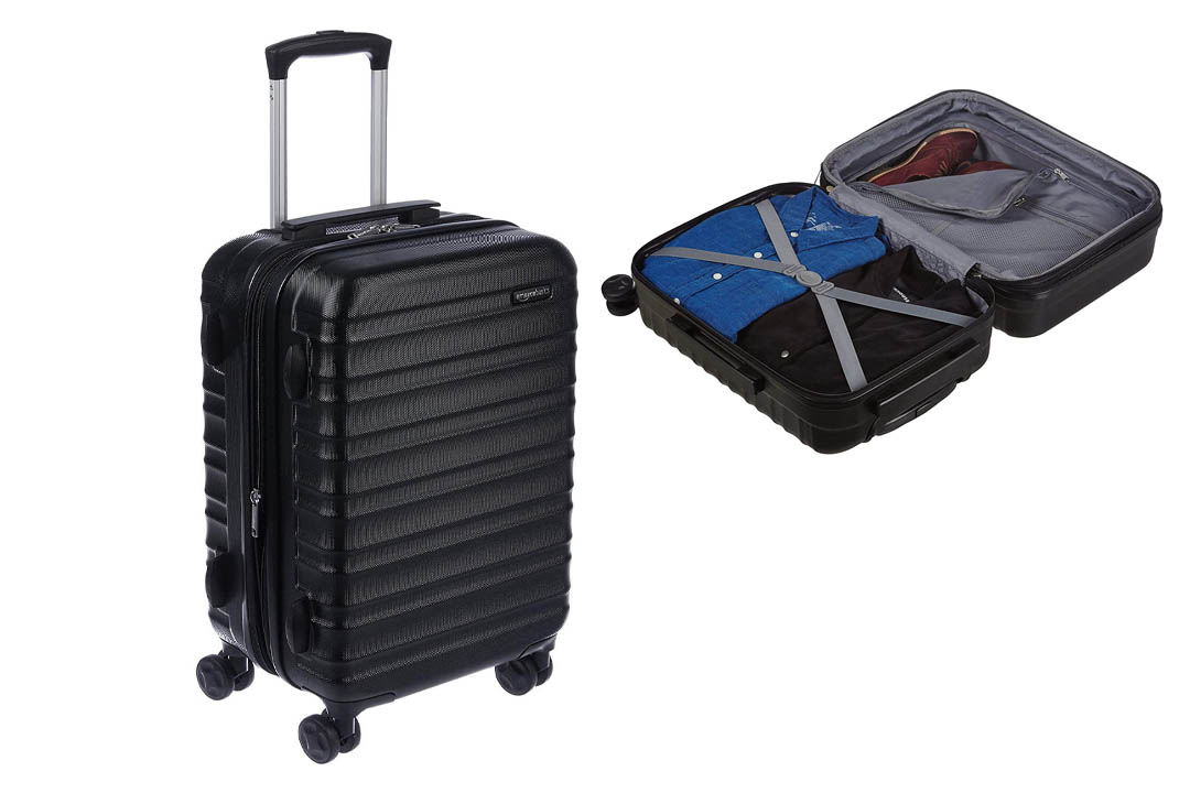 AmazonBasics Hardside Spinner Luggage