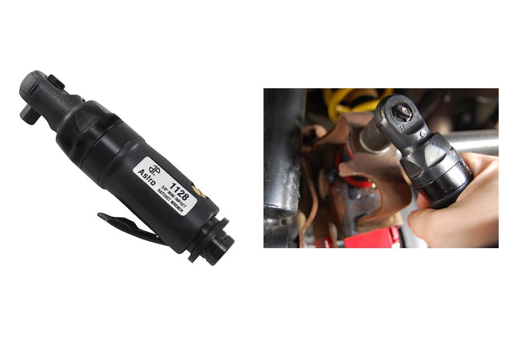 """Astro 1128 Mini Impact Ratchet Wrench, 3/8"""""""