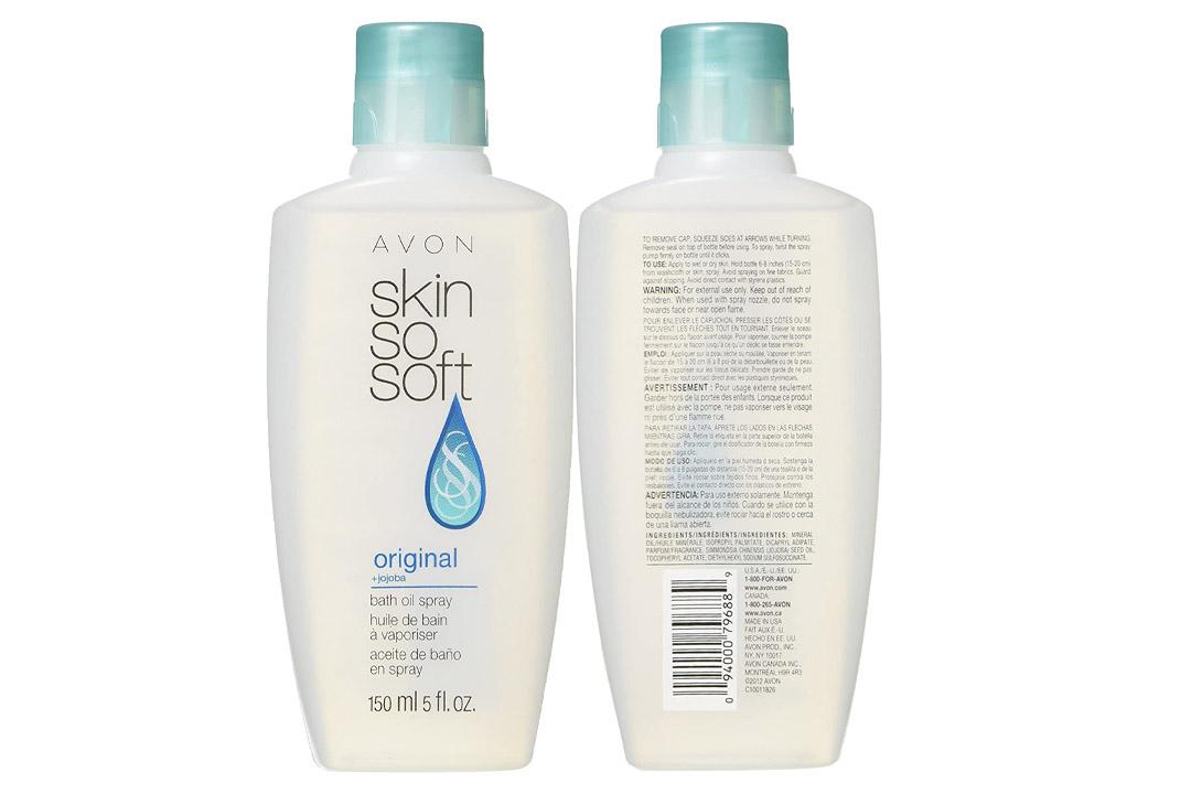 Avon Skin So Soft Original Bath Oil Spray with Pump 5 Ounce