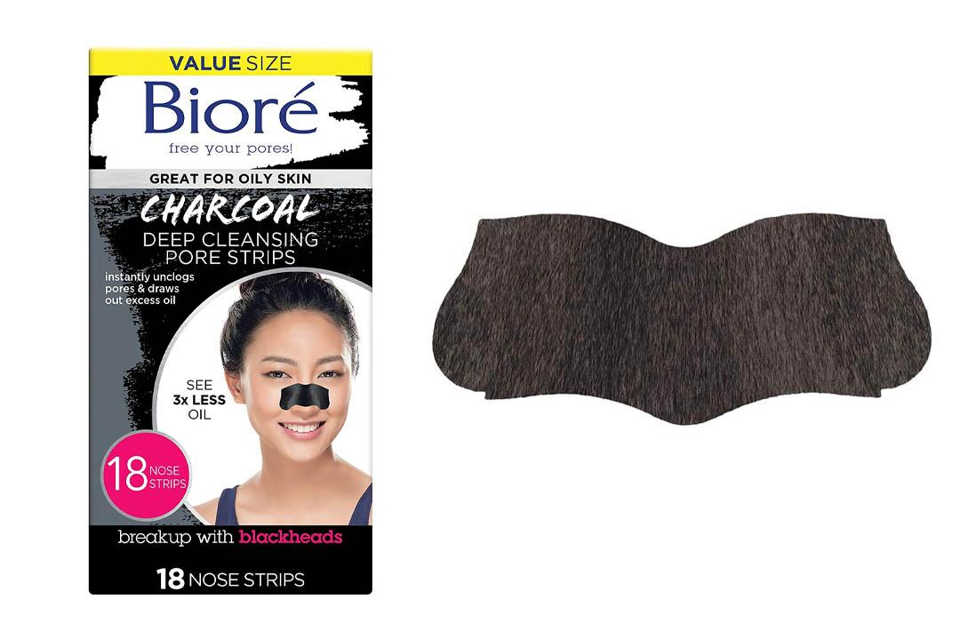 Bioré Deep Cleansing Charcoal Pore Strips (18 Count)