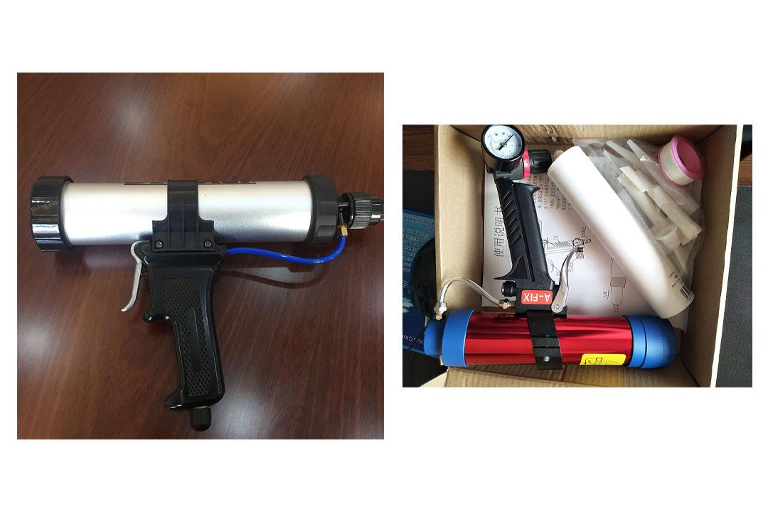 Caulk Master 1/10th Gallon Cartridge Air Caulking Gun
