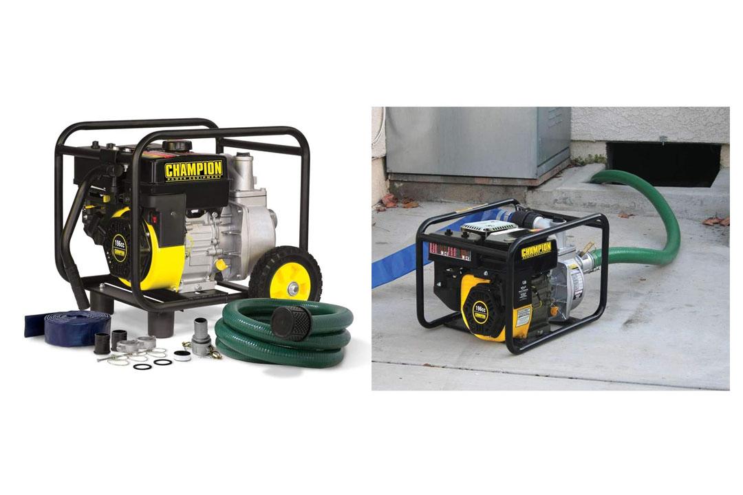 Champion Power Equipment 66520 Semi-Trash Water Transfer Pump