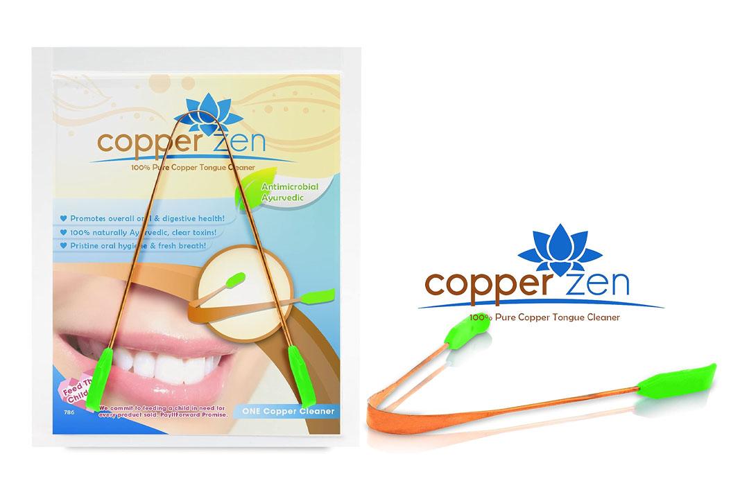 CopperZen 100% Copper Tongue Scraper