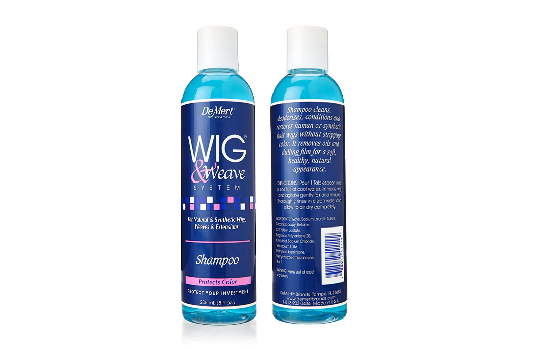 DeMert Wig & Weave System Shampoo for Natural and Synthetic Hair