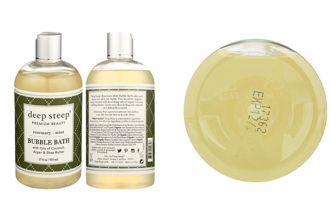 Deep Steep Rosemary Mint Bubble Bath