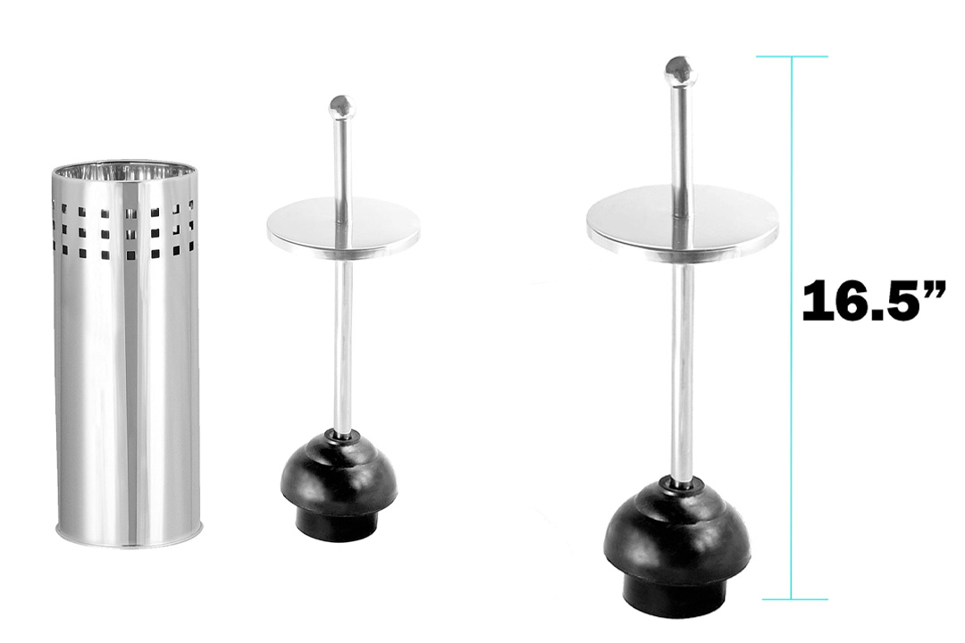 Donuts Aerated Toilet Plunger
