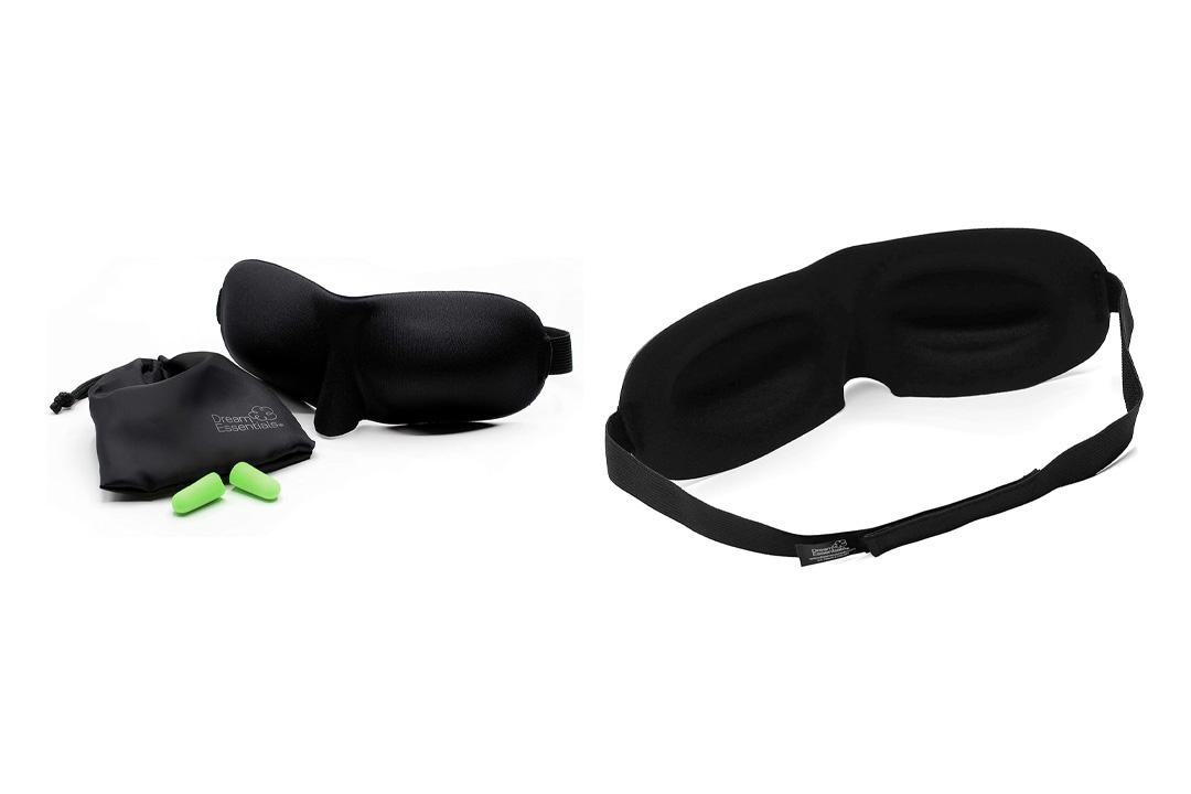 Dream Essentials Sweet Dreams (TM) Lightweight Contoured Sleep Mask Kit