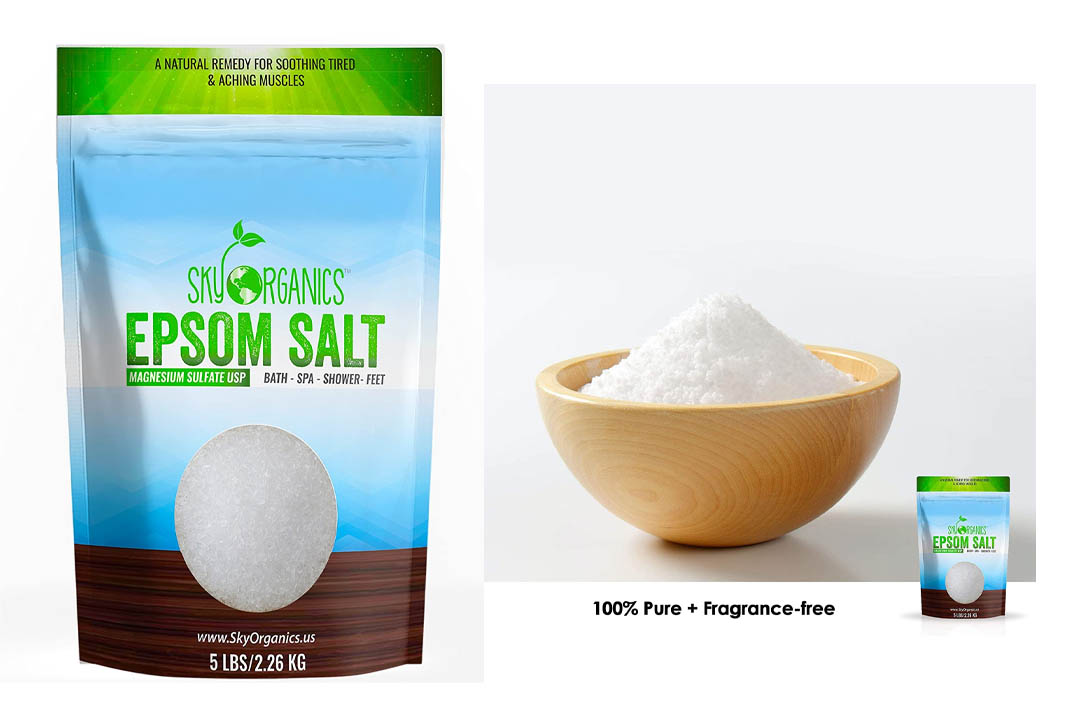Epsom Salt By Sky Organics (5 LBS)