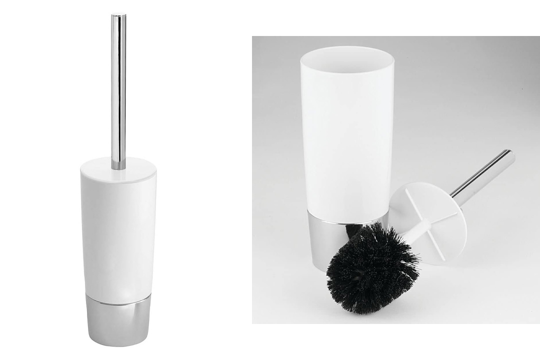 InterDesign Duetto Toilet Bowl Brush