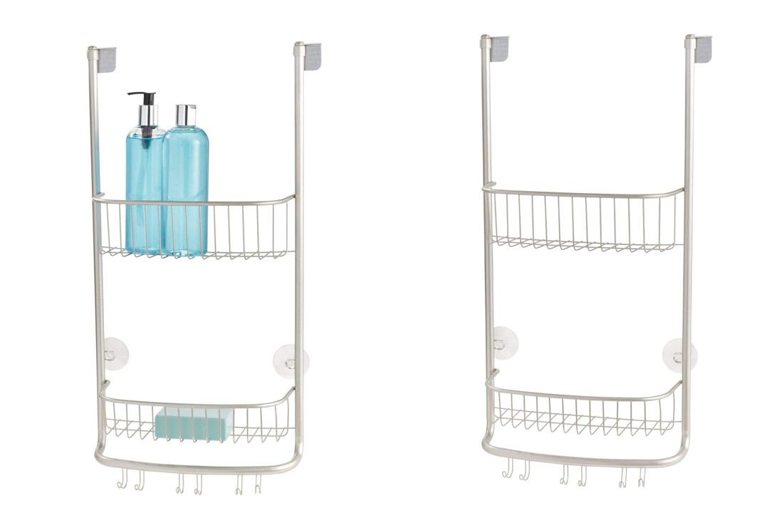 InterDesign Forma Bathroom Over Door Shower Caddy