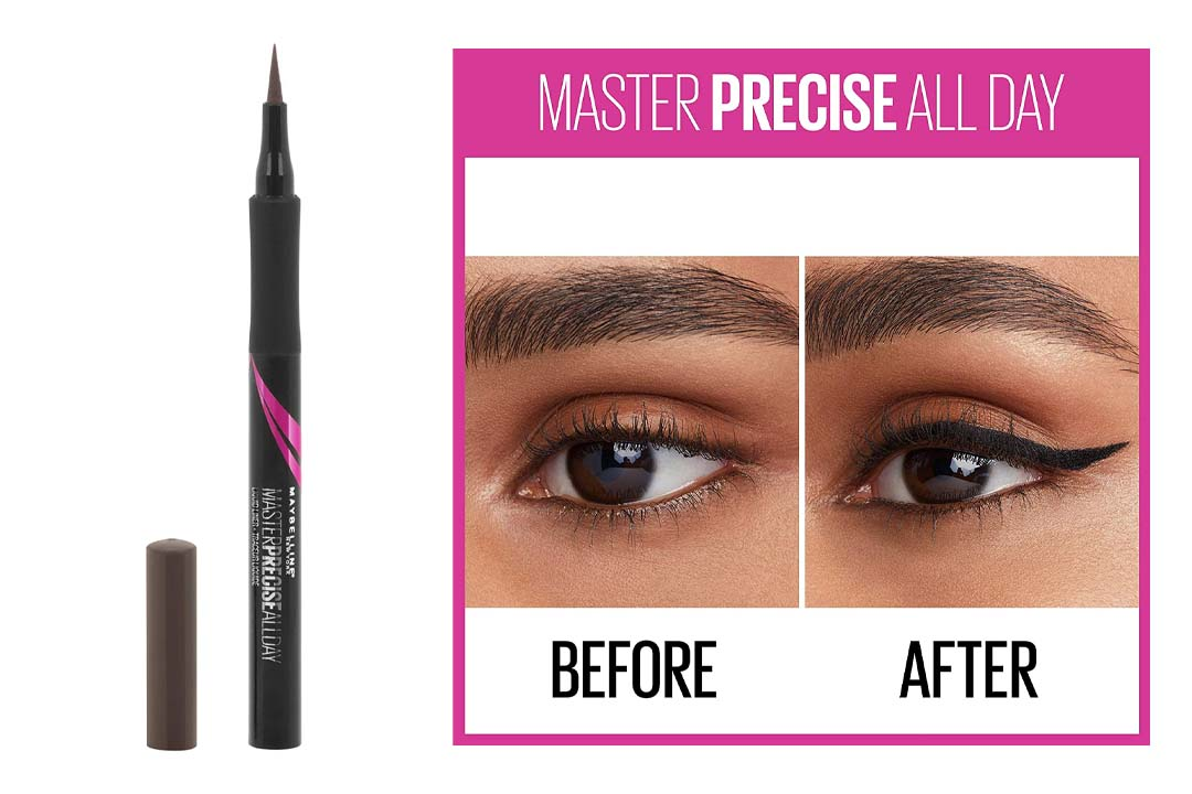 Maybelline Eyestudio Master Precise All Day Liquid Eyeliner Makeup
