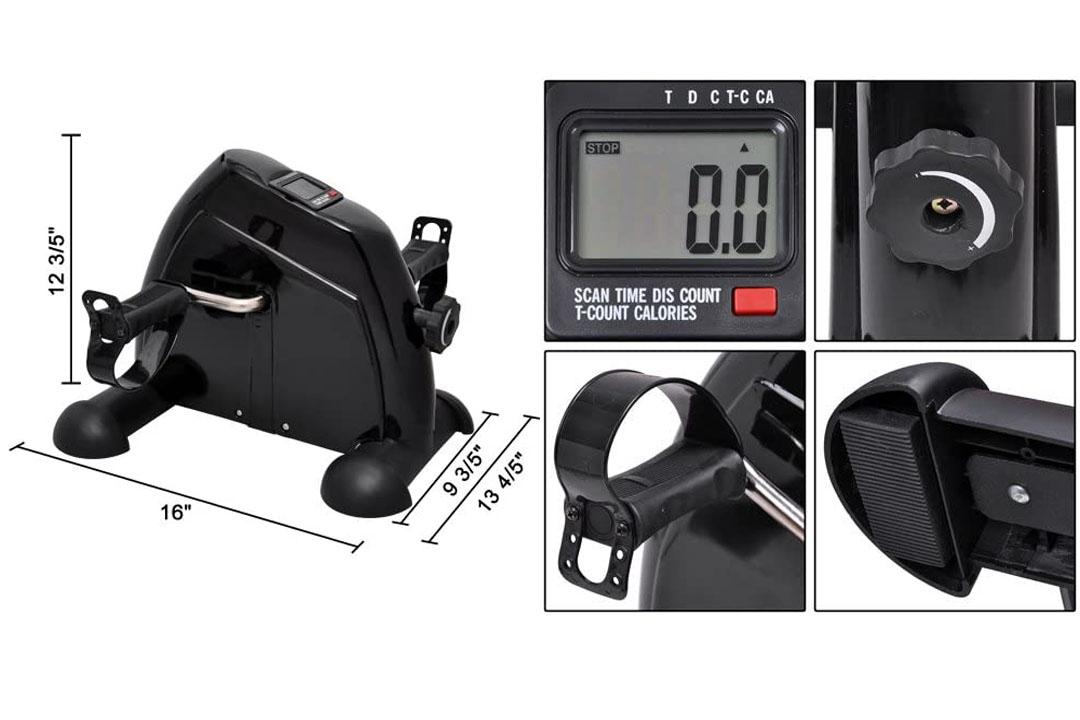 MedMobile® Digital Mobility Aid Pedal Exerciser for Arms & Legs