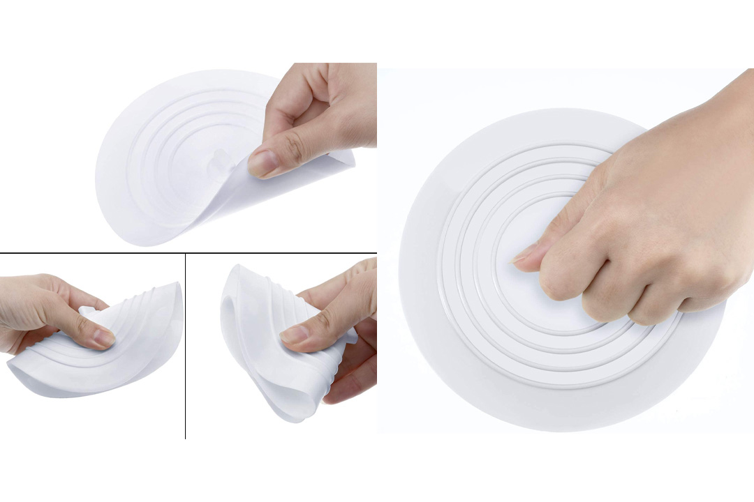 Mudder 6 Inches Silicone Tub Stopper Drain Plug for Kitchens