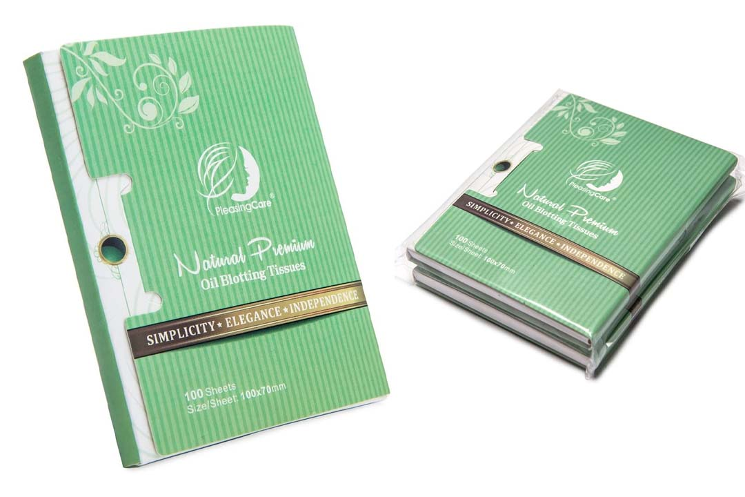 Natural Green Tea Oil Absorbing Tissues