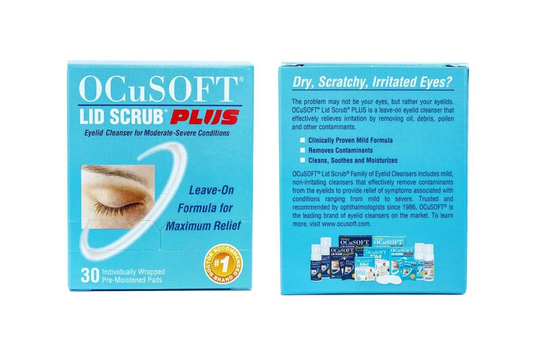 OCuSOFT Lid Scrub Plus Eyelid Cleanser