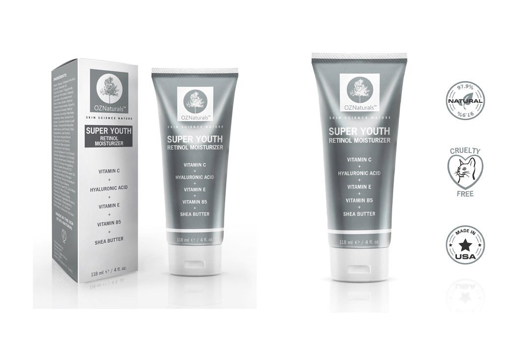 OZ Natural's Retinol Moisturizer Night Cream