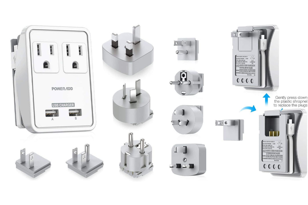 Outlet International Travel Power AC Adapter