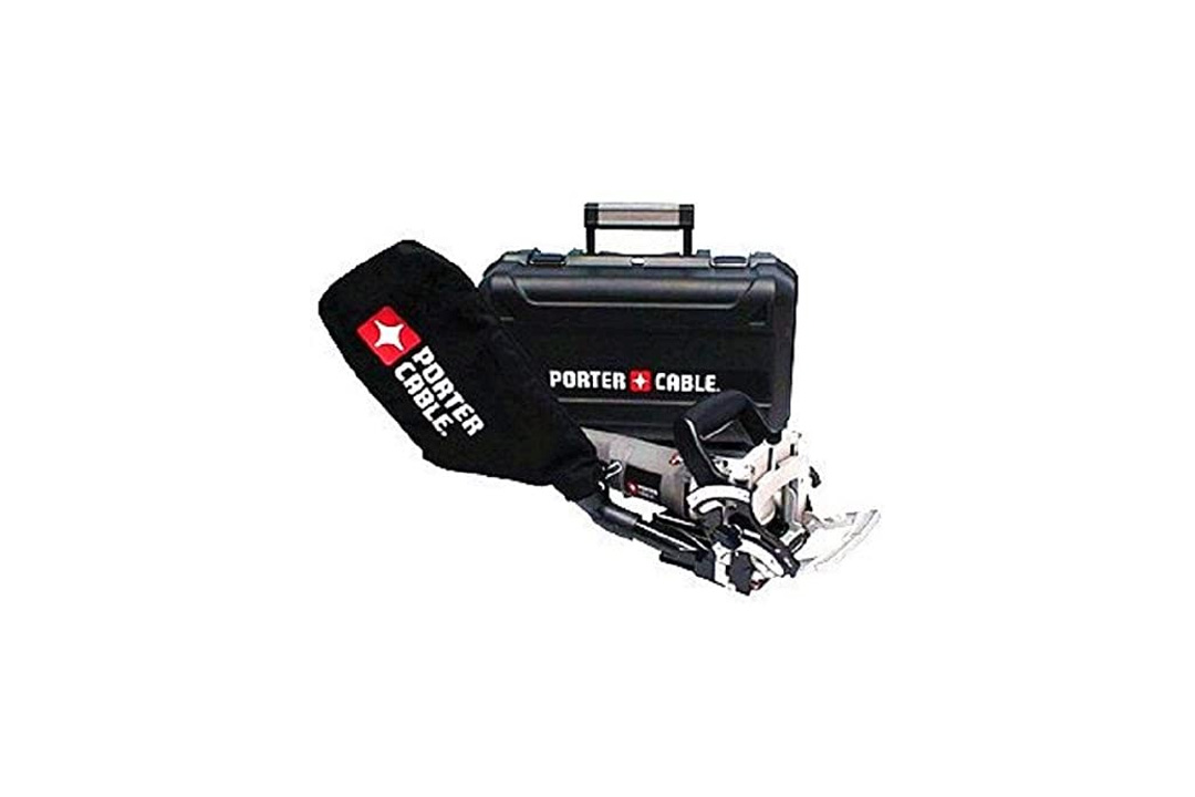 PORTER-CABLE 557 7 Amp Plate Joiner Kit with 1000 Assorted Biscuits