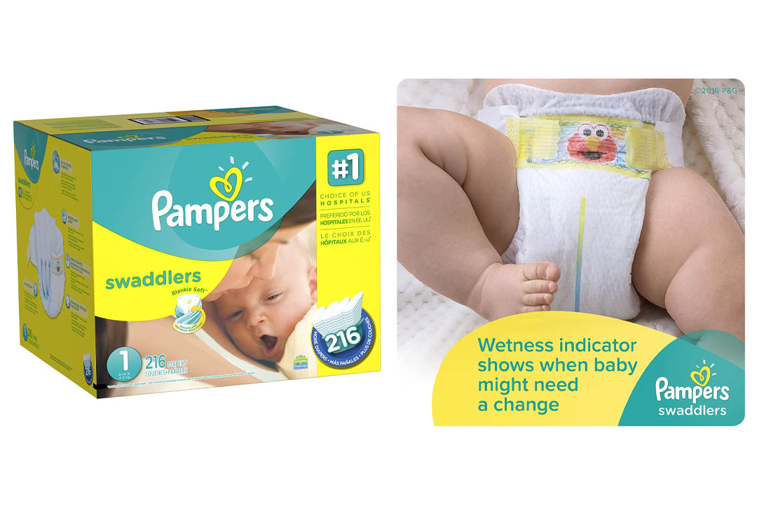 Pampers Swaddlers Disposable Diapers Newborn