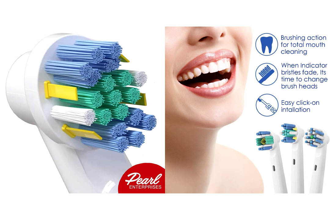 Pearl Enterprises Oral B Braun Compatible Replacement Brush Heads