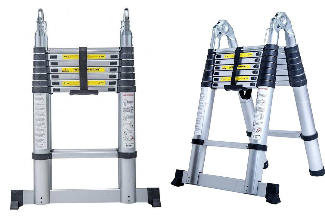 Portable Telescopic Extension Ladder