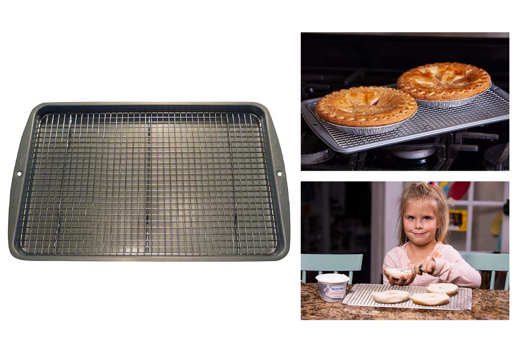 Stainless Steel Cooling Rack - 10 Inches X 15 Inches Heavy Duty